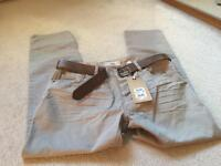 Brand new men's beige jeans by Next. 34s.