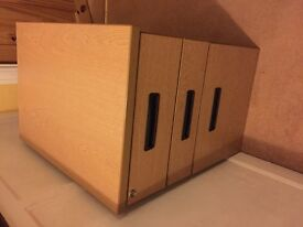 DESK PEDESTAL Lockable/storage/draws/office furniture/storage draws