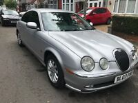 2003 jaguar s type 2.5 automatic petrol 1 years mot cream leather drives perfect fully loaded