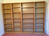 Oak Billy Bookcases