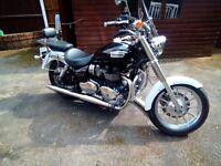 Triumph bonneville america cruiser motorcycle 2010