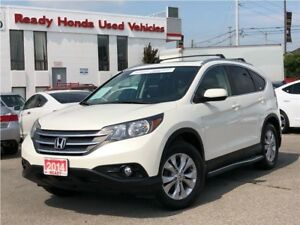 2014 Honda CR-V EX-L - Leather - Roof - R. Boards - R. Rack