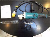 Makita GA9050 110v 230mm Angle Grinder