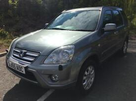 2005 Honda CR-V Vtec Executive 2.0 4x4 with 1 Year MOT! Sat Nav! Towbar! Cheap CRV!