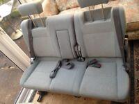 Mazda bongo folding rear seat