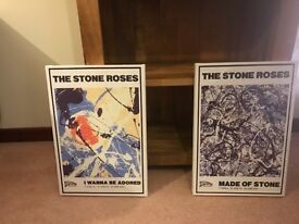 Stone roses and oasis canvas prints