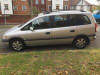 Vauxhall Zafira 2.0 DTi 16v Silver Elegance, 5 door, 7 Seater MOT till May 2017
