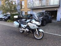 BMW 1200RT Bike with heated seats and grips. Powerful yet comfortable bike