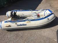 2.5 Mtr loadstar inflatable dinghy with