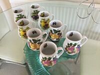SET OF 8 TRADE WIND MUGS NEW BOXED