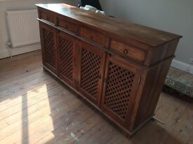 Wooden Linen Cabinet