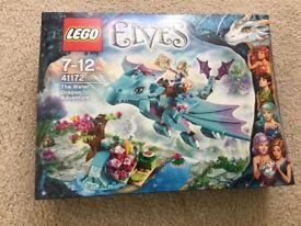 LEGO 41172 Elves: The Water Dragon Adventure - NEW UNOPENED SET