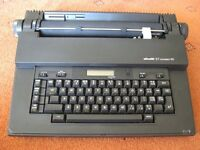 Olivetti compact electronic typewriter