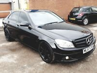 Mercedes C Class 2.2 Diesel Automattic Full S/History Long MOT Great Spec/Cond Blacked Out Merc AMG