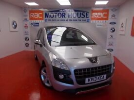 Peugeot 3008 HDI ALLURE(AUTOMATIC) FREE MOT'S AS LONG AS YOU OWN THE CAR!! (silver) 2013