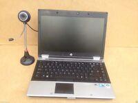 Fast HP EliteBook Intel Core i5-M320@ 2.40GHz 2GB 160GB Window 7 free Webcam