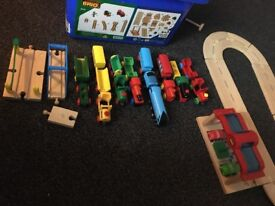 BRIO wooden railway set IMMACULATE COMDITION