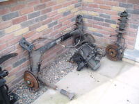 PEUGEOT 307 DIESEL ENGINE 2.0 GEARBOX, BEAM AND DAMPER WITH SHIELDS