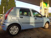 2005 1 owner fiat punto 1.2 5 door+12 months mot+full serrvice history incl timing belt+new gearbox