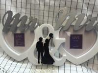Wedding Mr&Mrs photo frames