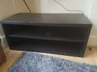 TV Stand Brown/Black
