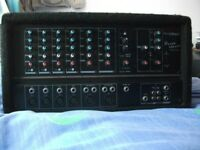 Phonic Powerpod 615 150W Powered Mixer Amp for Microphone Keyboard Instrument DJ PA Amplifier
