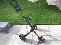 Hippo Golf Cart Trolley. Excellent Condition. For Clubs Irons Woods Taylormade Titleist Ping