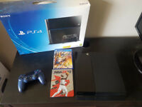 USED 2TB PS4 + 2 Games + New 2017 Model Controller