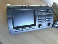 bmw e46 alpine stereo sat nav monitor