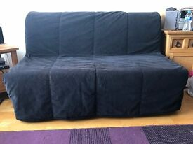 Used Two Seat - Sofa Bed From IKEA (Moving out) | Good condition