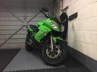 Kawasaki 650 er6f green