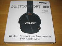 BOSE QUIET COMFORT WIRELESS HEADPHONES BLUETOOTH BRAND NEW & BOXED