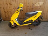 Malaguti phantom 50cc scooter moped 12 months mot