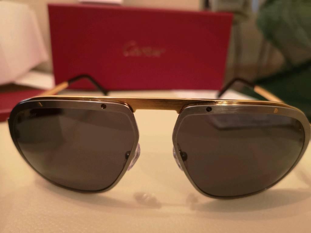 3a0d8a8fecc47 Santos de Cartier sunglasses