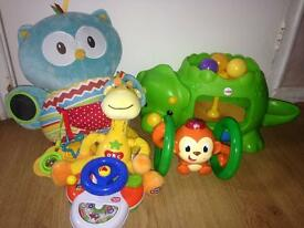 Job lot baby toys £15.00 excellent condition like new all work