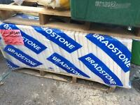 Brand new 450x450 bradstone grey paving slabs
