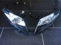 Yamaha YZF 125 YZF125 headlights