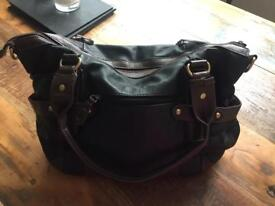 Black and Brown Chenson Handbag