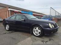 2001 MERCEDES CLK 240 COUPE NOVEMBER 2018 MOT