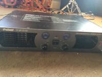 PROSOUND-1600 800w PROFESSIONAL POWER DJ/PA AMPLIFIER