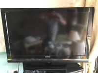 Sony 37 inch tv flat screen led