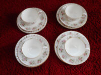 Minton Fine Bone China Tea Set. Spring Bouquet-beautiful. Excellent condition - all pieces stamped.