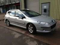 Peugeot 407 SW - drivable, in need of new clutch soon, however otherwise solid car, no advisories.