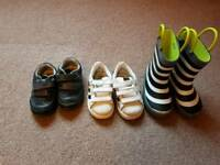 Baby boy bundle shoes size 4.5 and 5