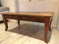 Solid Wood Coffee Table £40