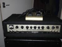 Behringer 450 watt bass head excellent condition with footswitch