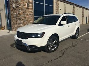 2016 Dodge Journey Crossroad AWD LEATHER MOONROOF NAVIGATION REA