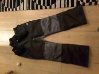 Skiing trousers x 2 pairs