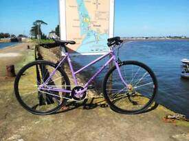 Ladies bike purple single speed or fixed gear