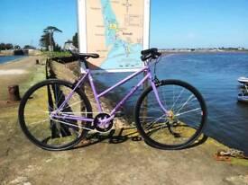 Ladies bike purple single speed or fixed gear